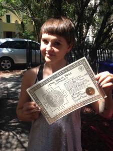 Universal Yoga Certificate